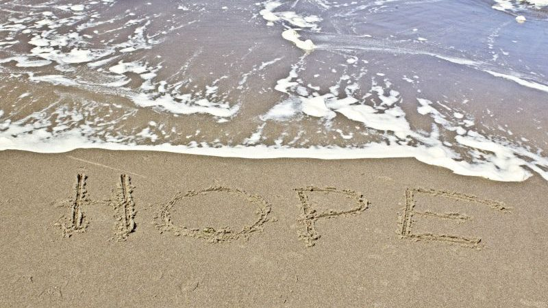 Der er håb for alle og enhver derude i dag